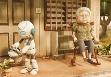 机器人与老奶奶