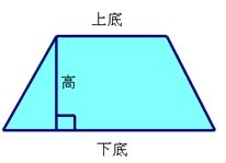 这个梯形的面积是多少图片