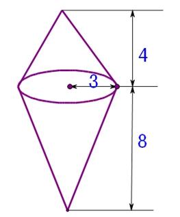 级下册 圆锥的体积 练习卷图片