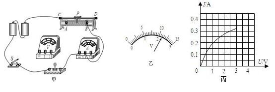 5v的小灯泡电功率的实验中,电路已